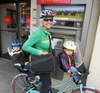 Banking by bike