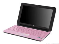 HP Mini 210-1199DX Pink Laptop Computer