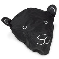 Bicycle Seat Cover in Black Bear