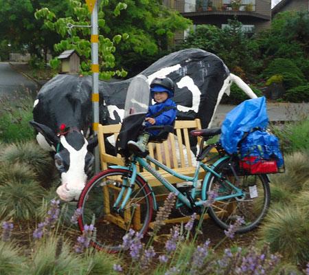 Bikes In Rain At Trader Joes >> First Rain Of The Season Family Ride