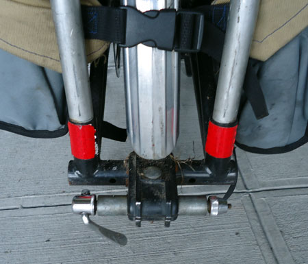 Edward's Big Dummy trailer hitch