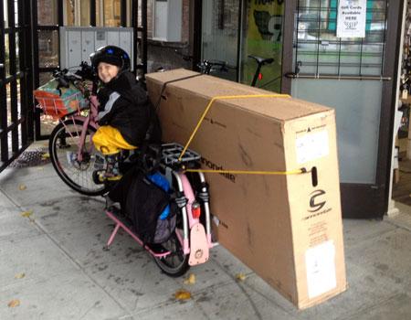 Bike box cargo