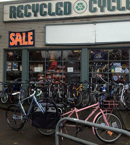 Bike as cargo