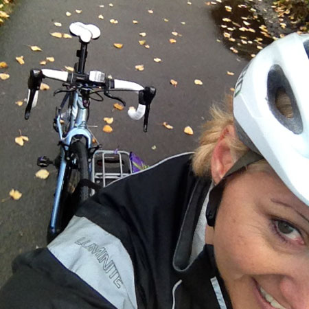Bike as cargo panda shot