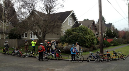 Spokespeople Ride January 2013