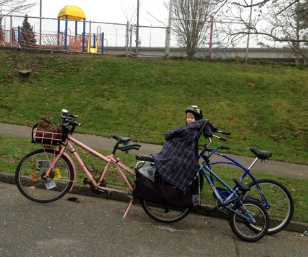 Towing two bikes