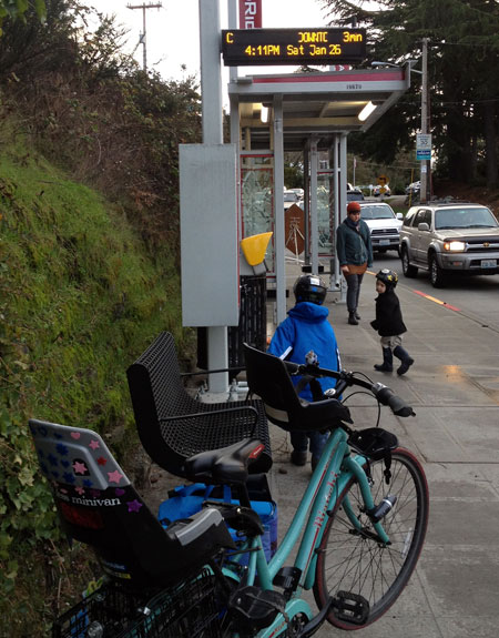 RapidRide stop leaving Fauntleroy