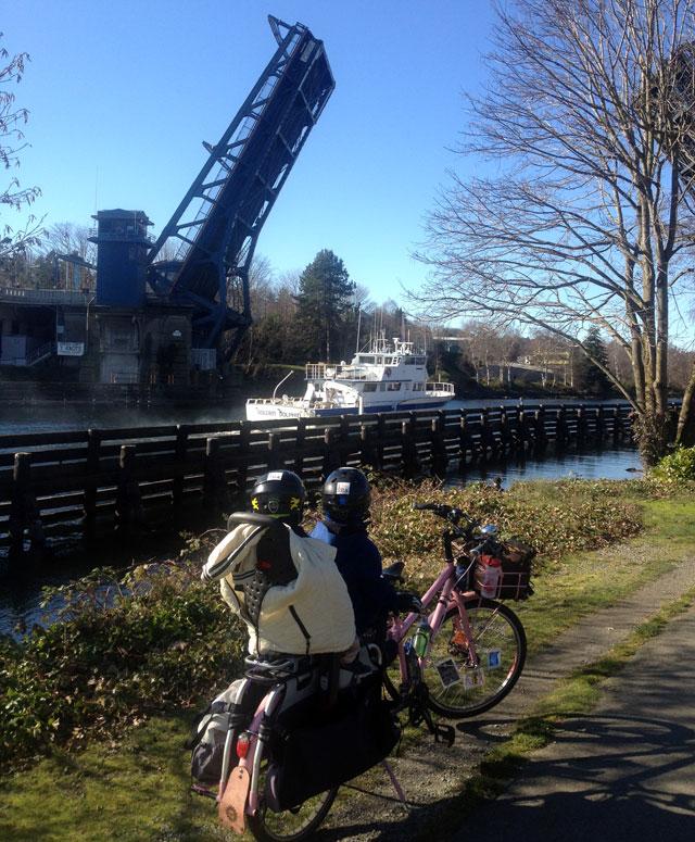 Fremont draw bridge