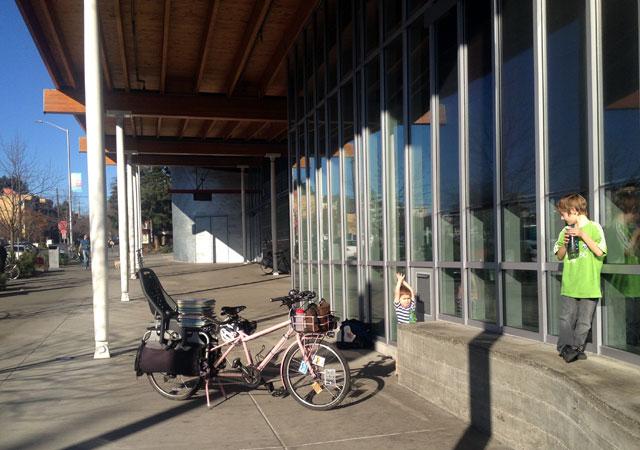 Books on the bike
