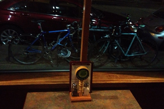 Bikes outside Hale's Ales