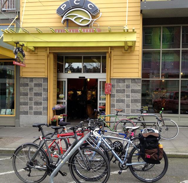 Bikes at PCC