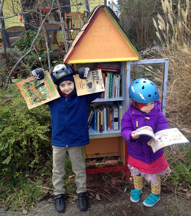 Columbia City Little Free Library