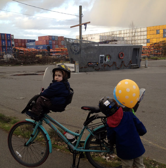 Portside Coffee Co on the Duwamish Trail