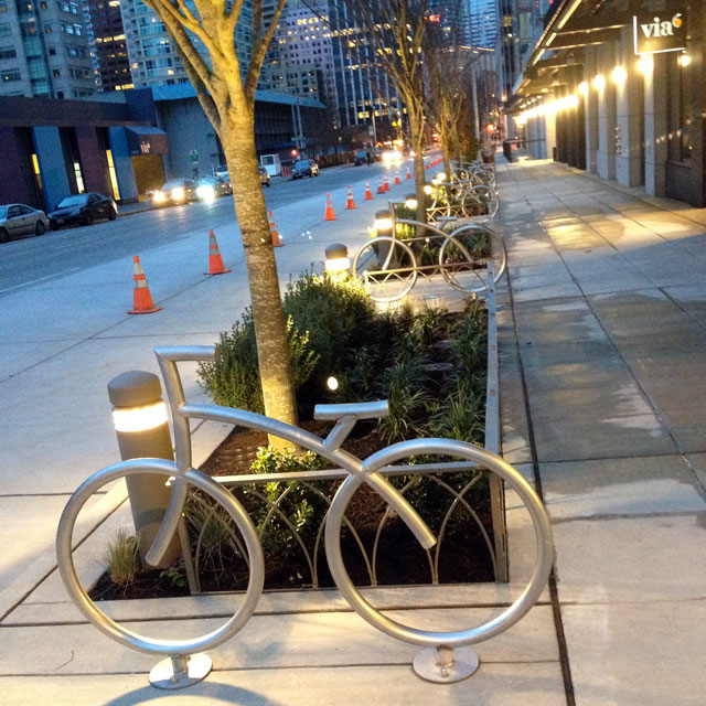 Via6 bike racks