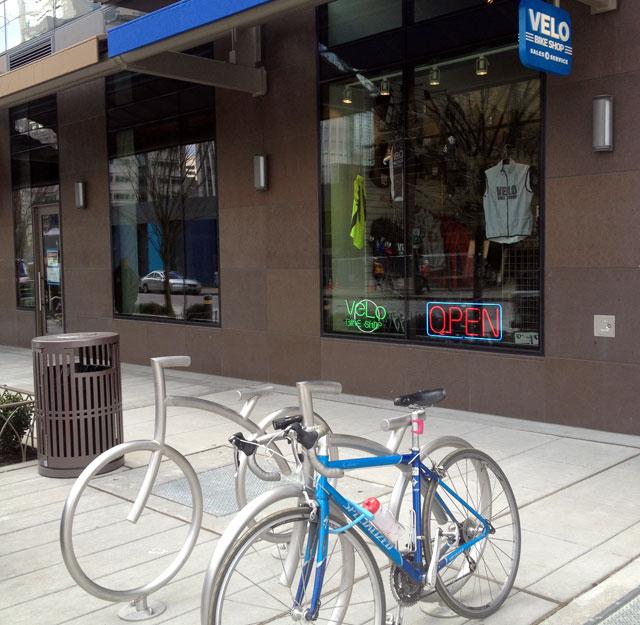 Visit to Velo Bike Shop