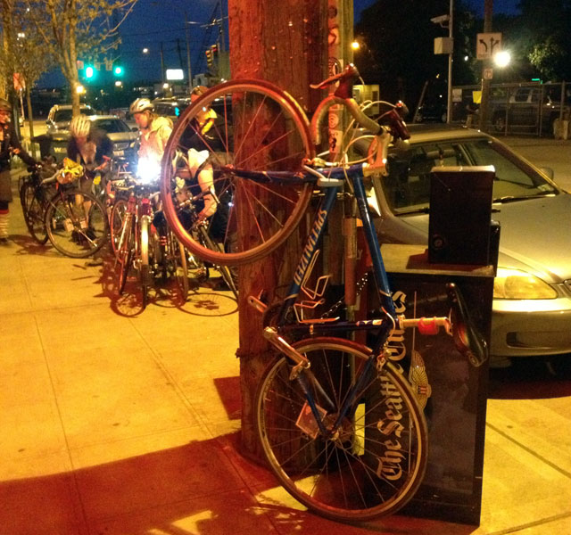 Light-bike parking