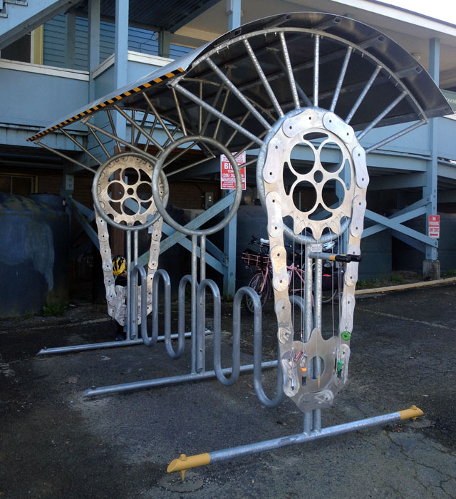 The PNA bike rack