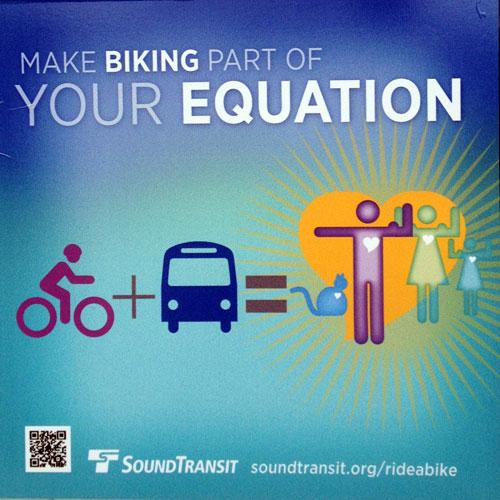 Bike + bus = muscles!