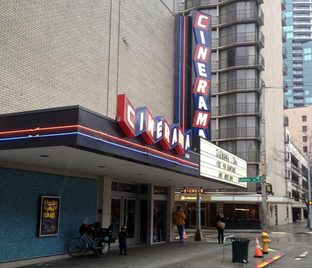 Sheltering at Cinerama