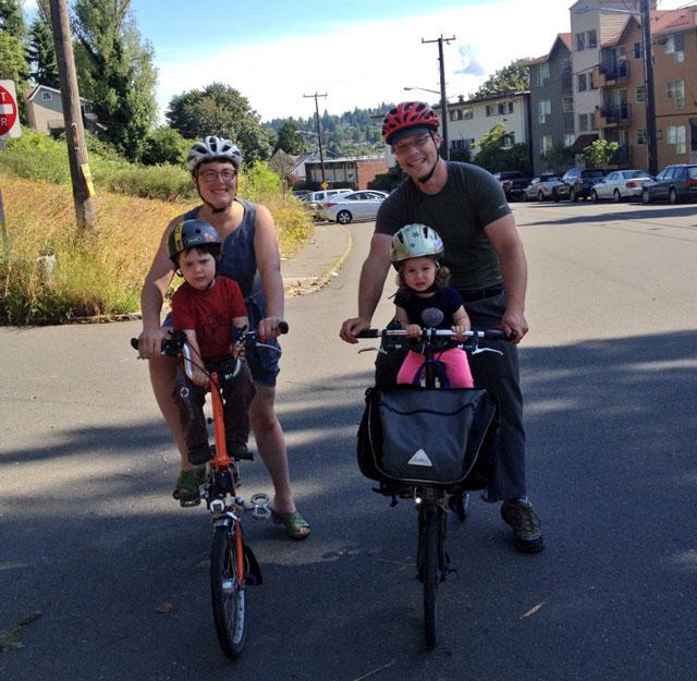 Portlanders in Seattle