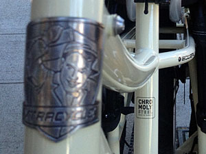 Xtracycle EdgeRunner head badge