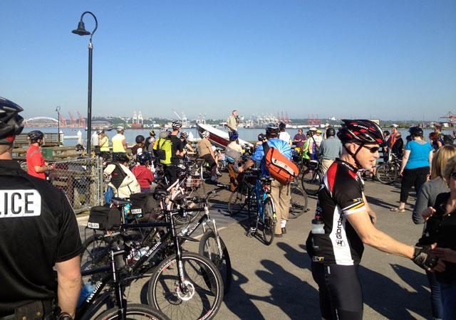 Lance David memorial ride