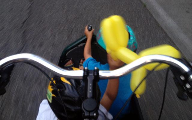 Bullitt test ride