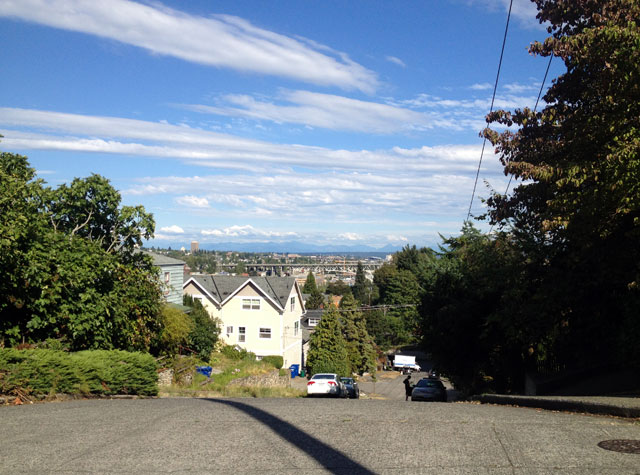 The view from Queen Anne