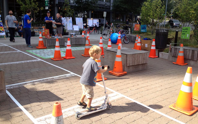 SDOT obstacle course