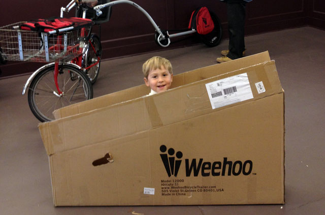 Fun with boxes in G & O Family Cyclery