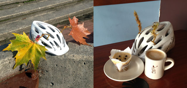 Fall helmet craft
