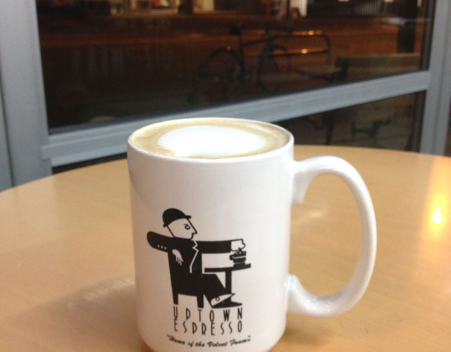 Uptown Espresso, Home of the Velvet Foam