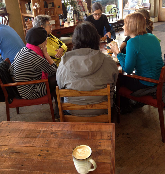 Coffee and company at Black Coffee Co-op