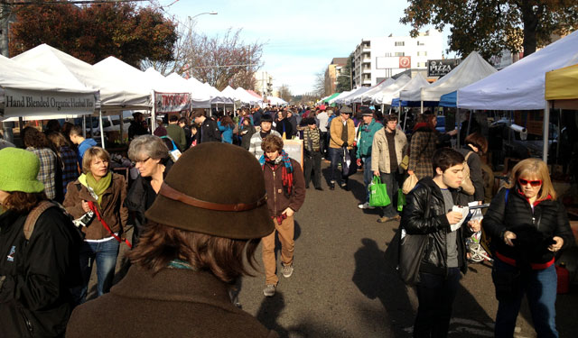 Univeristy District farmers market