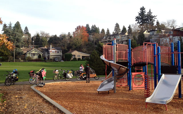 Rainier Community Center playground