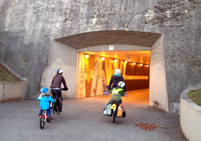 I-90 Bike Tunnel