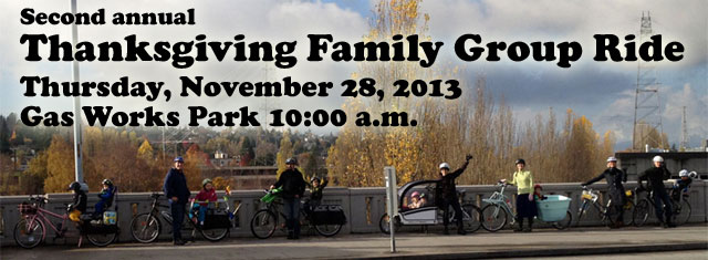 Second Annual Thanksgiving Family Group Ride