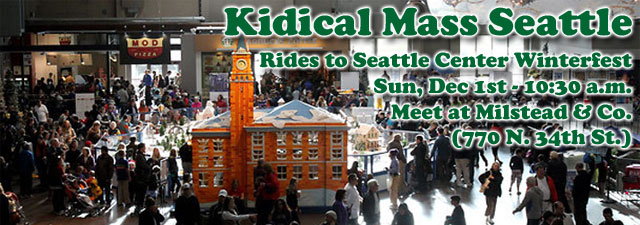 Kidical Mass Seattle - December