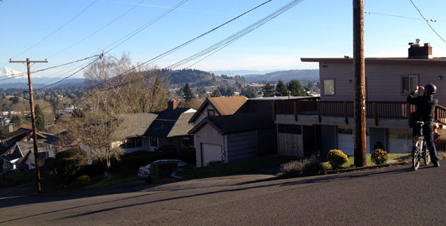 A view of Mount Hood