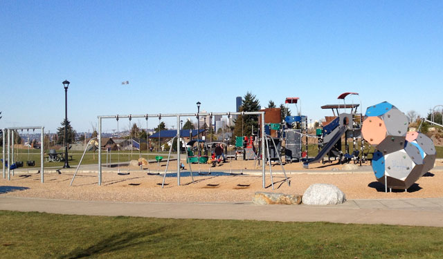 Jefferson Park playground
