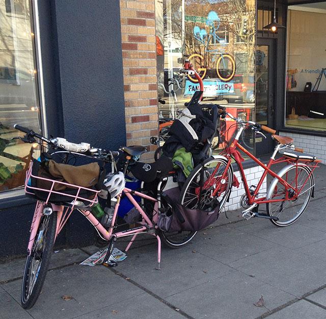 Hauling the Kinn to Bike Expo