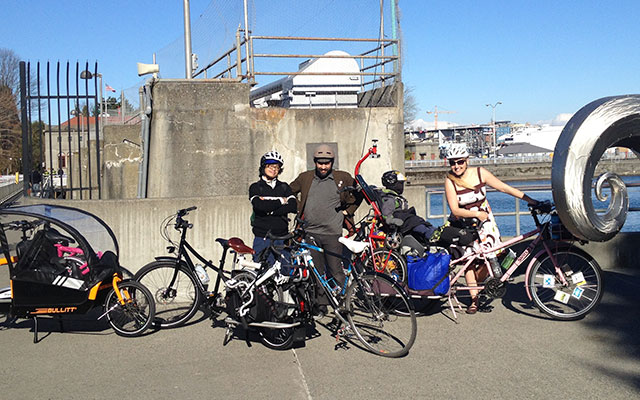 Hauling bikes to Bike Expo