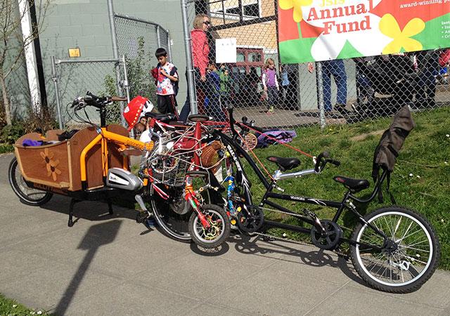 Julie's bike delivery
