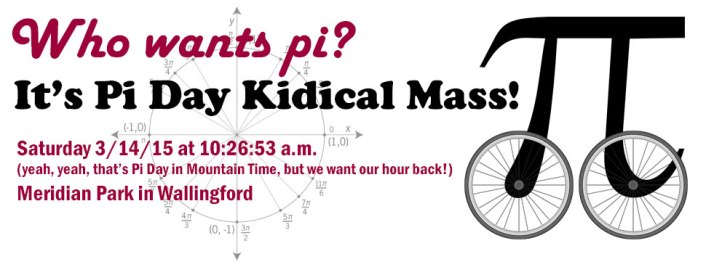 Pi Day Kidical Mass