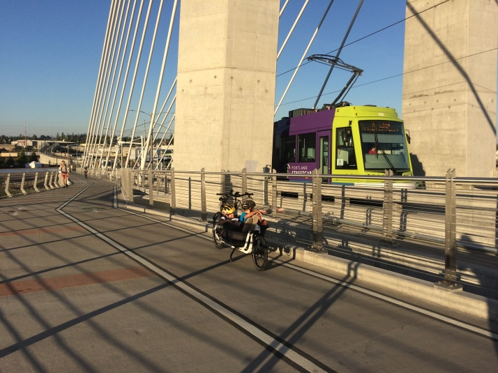 Crossing Tilikum Crossing