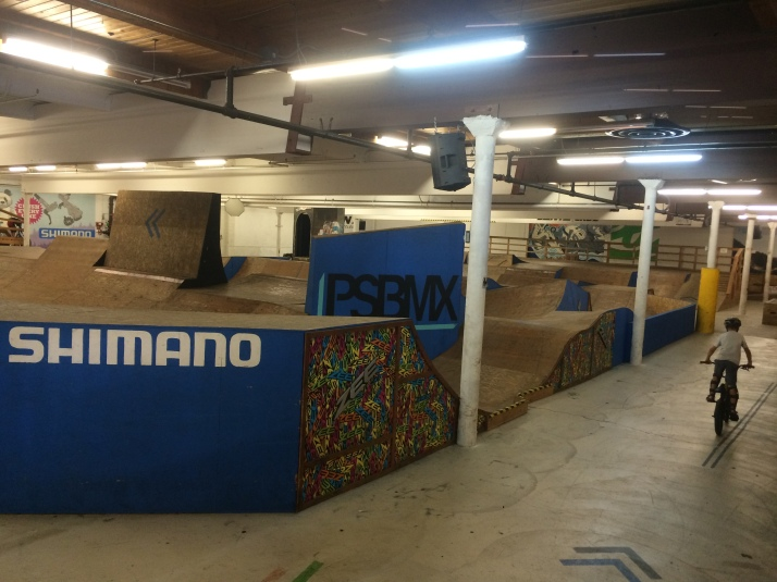 Lumberyard indoor bike park